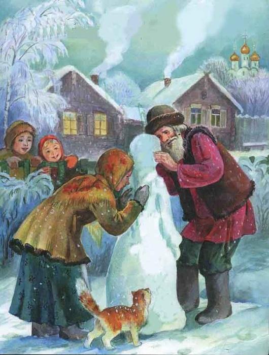 7 образов Снегурочки Русская семерка