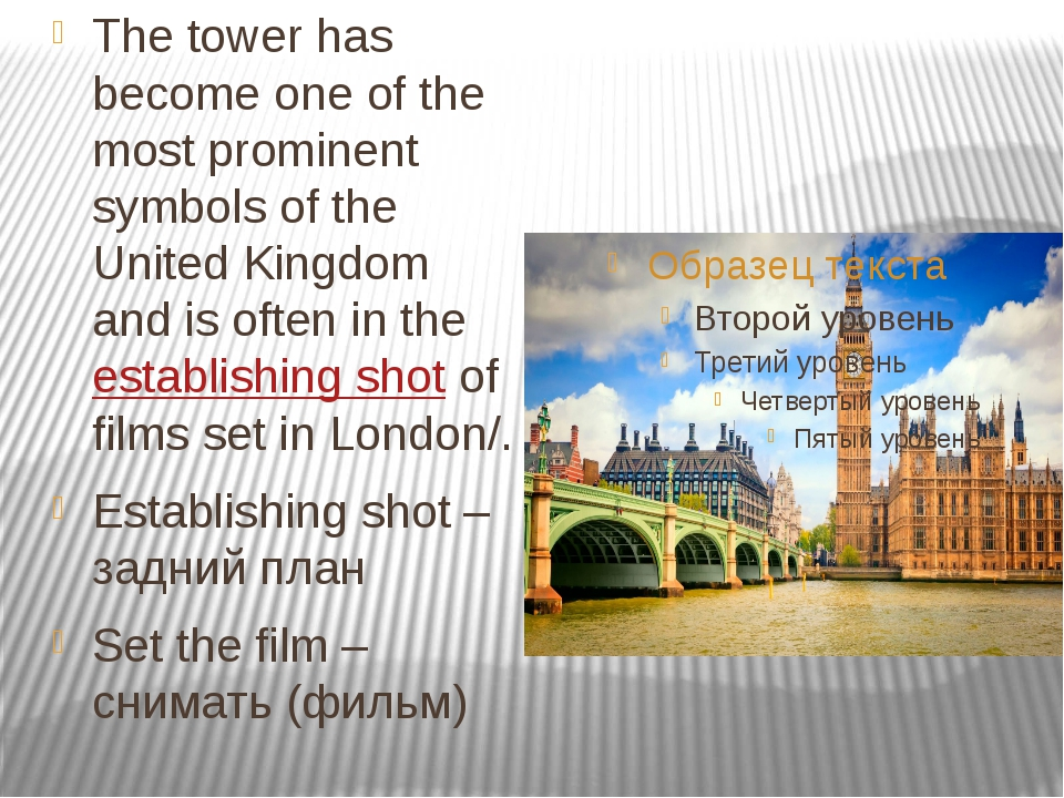 The tower has become one of the most prominent symbols of the United Kingdom...