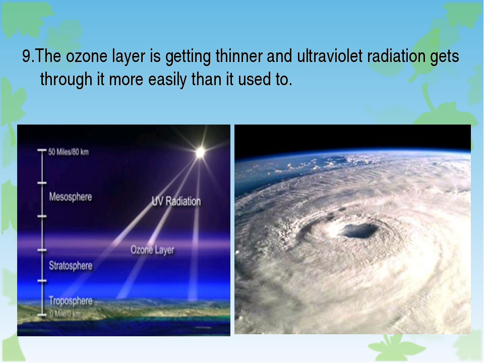 thinning of ozon layer Ozone layer depletion first captured the attention of the whole world in the latter half of 1970, and since then, a lot of research has been done to find its possible effects and causes various studies have been undertaken to find out possible solutions.