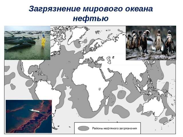 Загрязнение мирового океана нефтью