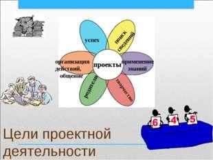 Цели проектной деятельности проекты успех организация действий, общение родит