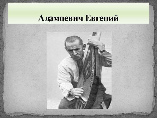 Адамцевич Евгений