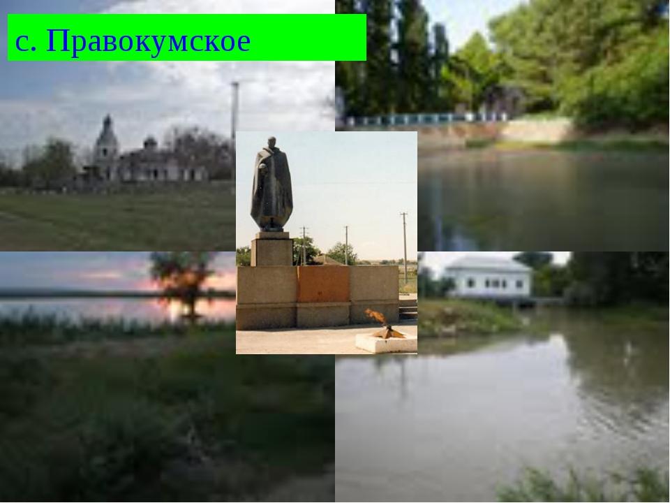 с. Правокумское