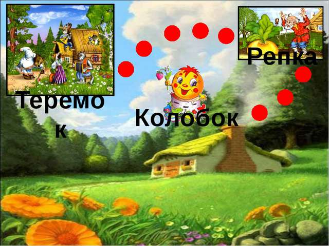 Теремок Репка Колобок