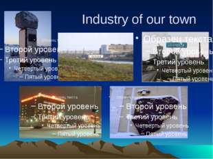 Industry of our town