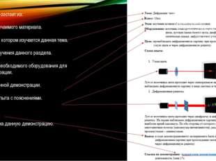 Карта опыта состоит из: Темы изучаемого материала. Класса в котором изучается