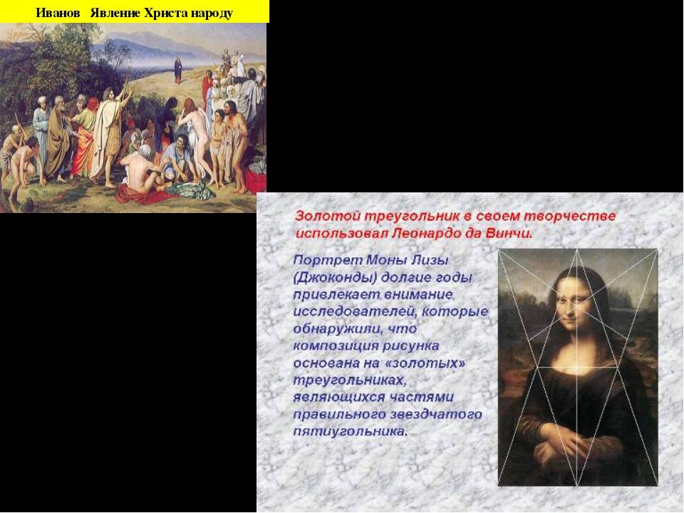Иванов Явление Христа народу Целое всегда состоит из частей, части разной вел...