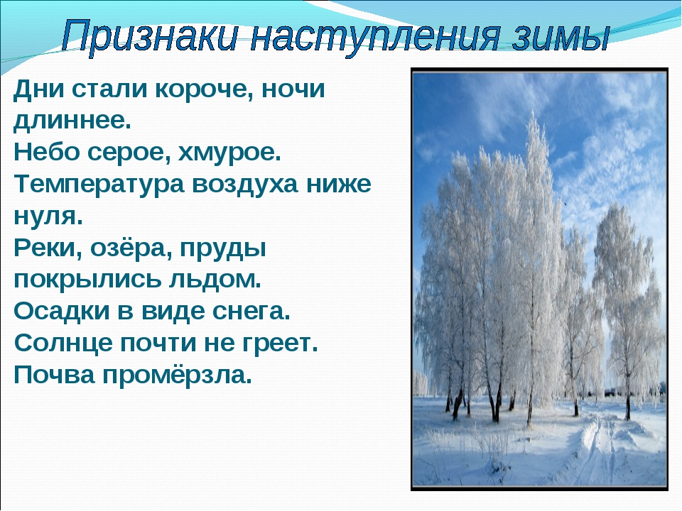 Почему зимой дни короче а ночи длиннее