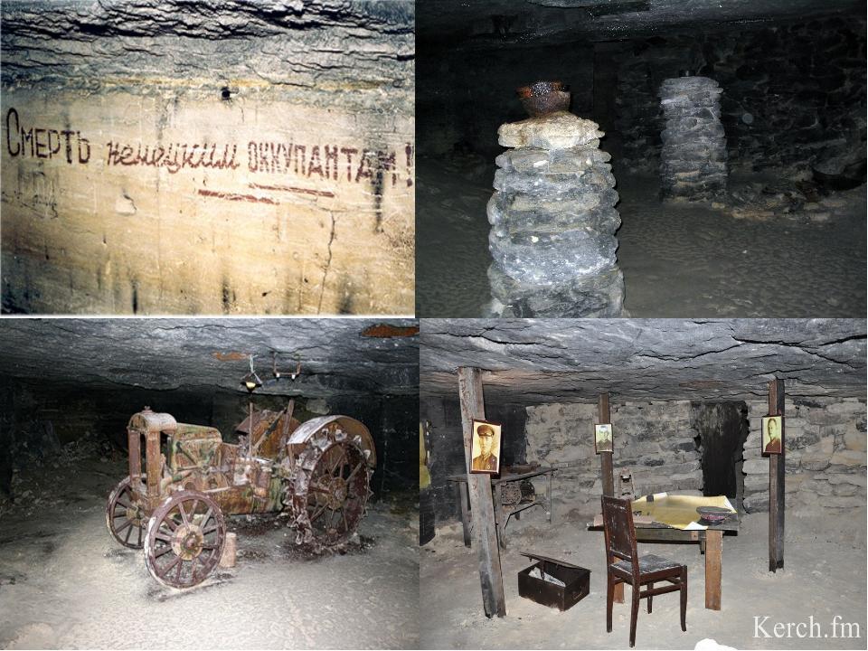 Каменоломни являются искусственными пещерами, которые возникли в результате д...