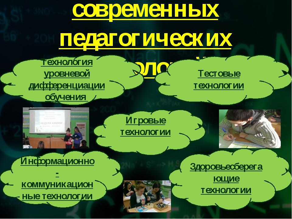 Использование современных педагогических технологий Тестовые технологии Техно...
