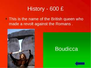 History - 700 £ The Hundred Years War was really these years long. 1337 – 145