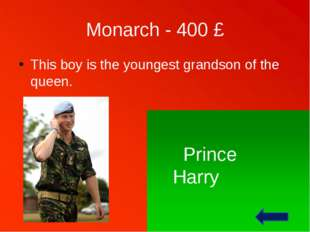 Monarch - 100 £ She is the queen of the United Kingdom of Great Britain and N