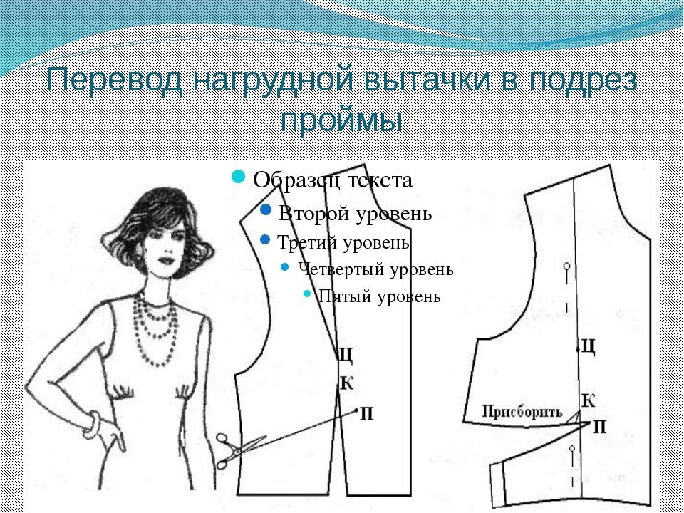 Как правильно сделать вытачки на платье