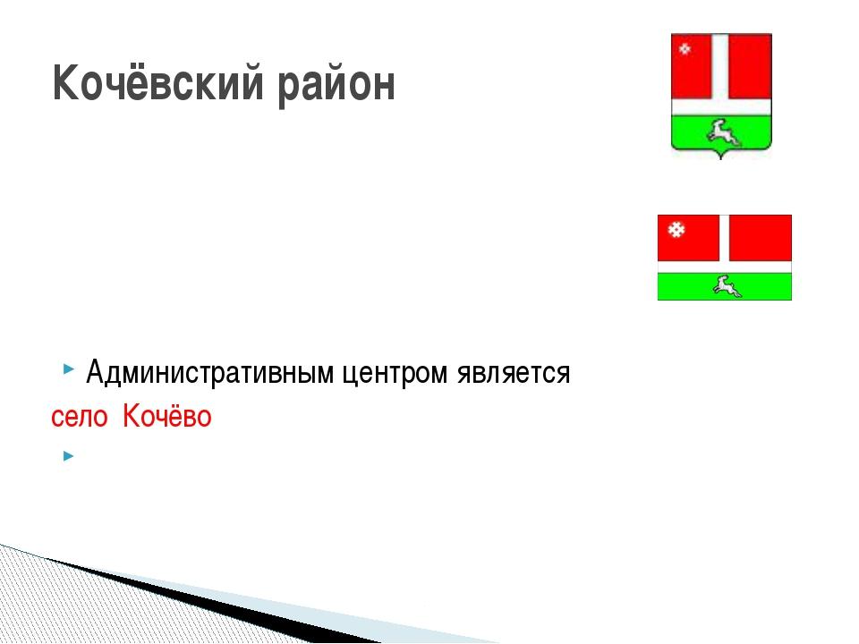 Административным центром является  село Кочёво Кочёвский район