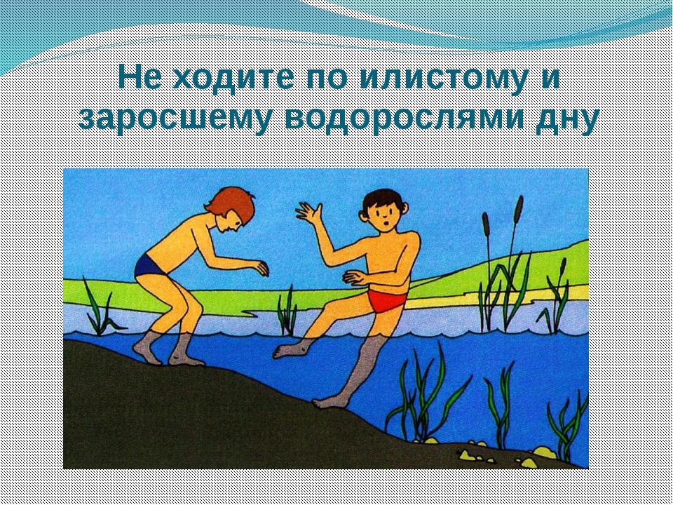 Не ходите по илистому и заросшему водорослями дну