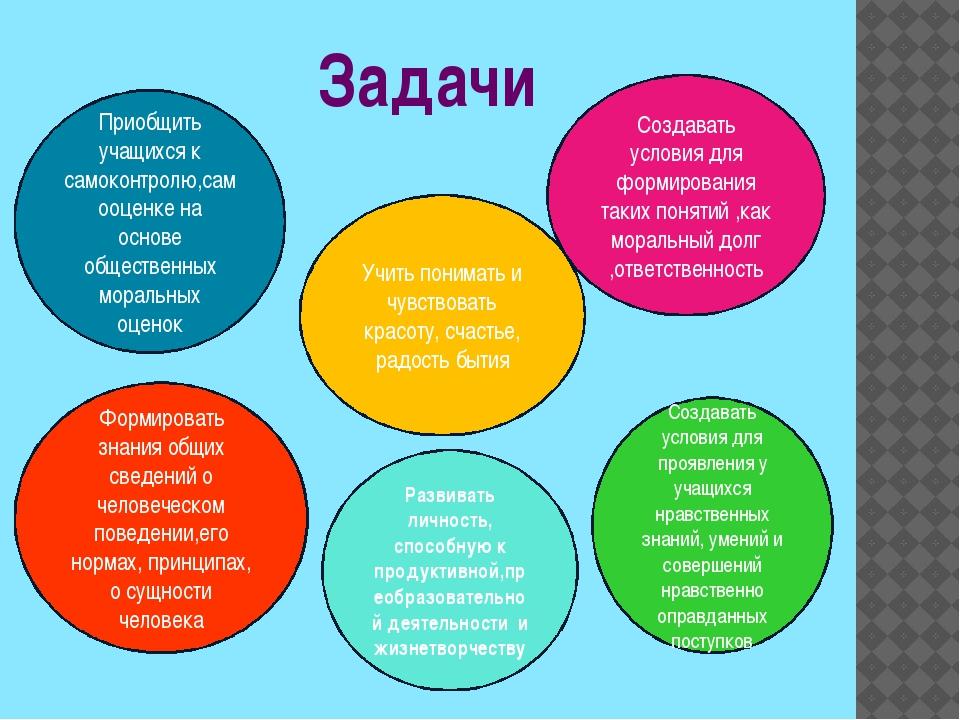 Задачи Приобщить учащихся к самоконтролю,самооценке на основе общественных мо...