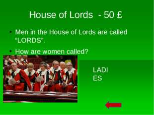 House of Lords - 20 £ During the Throne Speech of Her Majesty in the House of