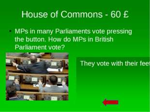 House of Commons – 30 £ This person is holding the mace. What does this Mace