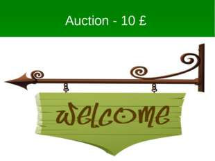 Auction – 10 £ This is the name of the palace where the British Parliament wo