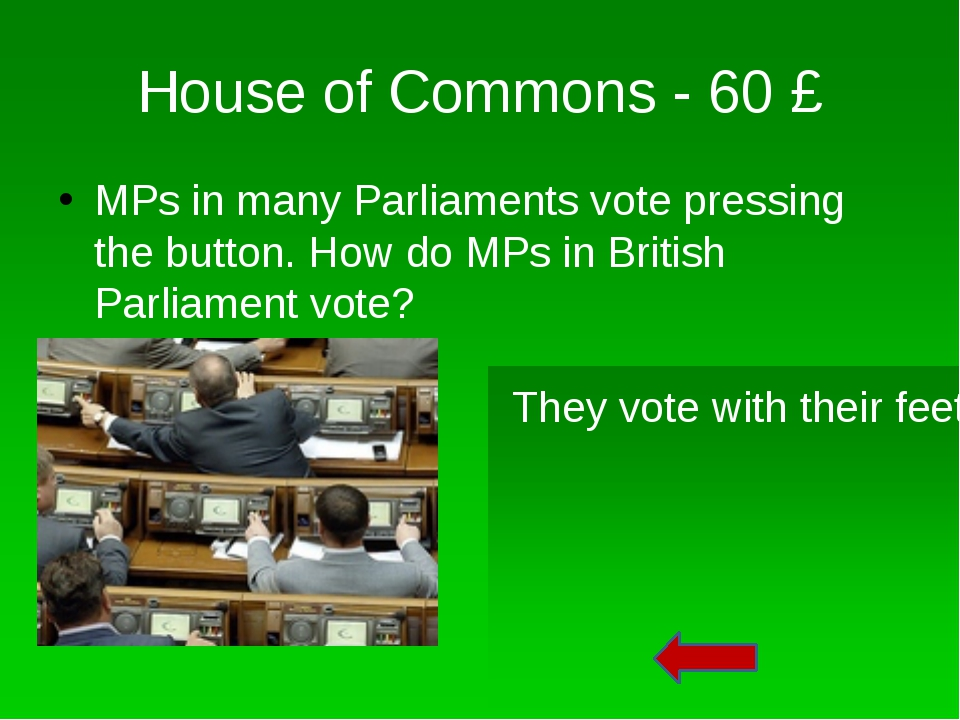 House of Commons – 30 £ This person is holding the mace. What does this Mace...