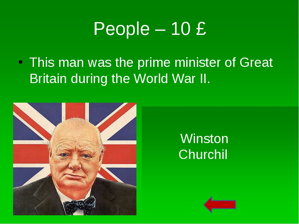 People – 40 £ What political party was he the leader? Labour Party
