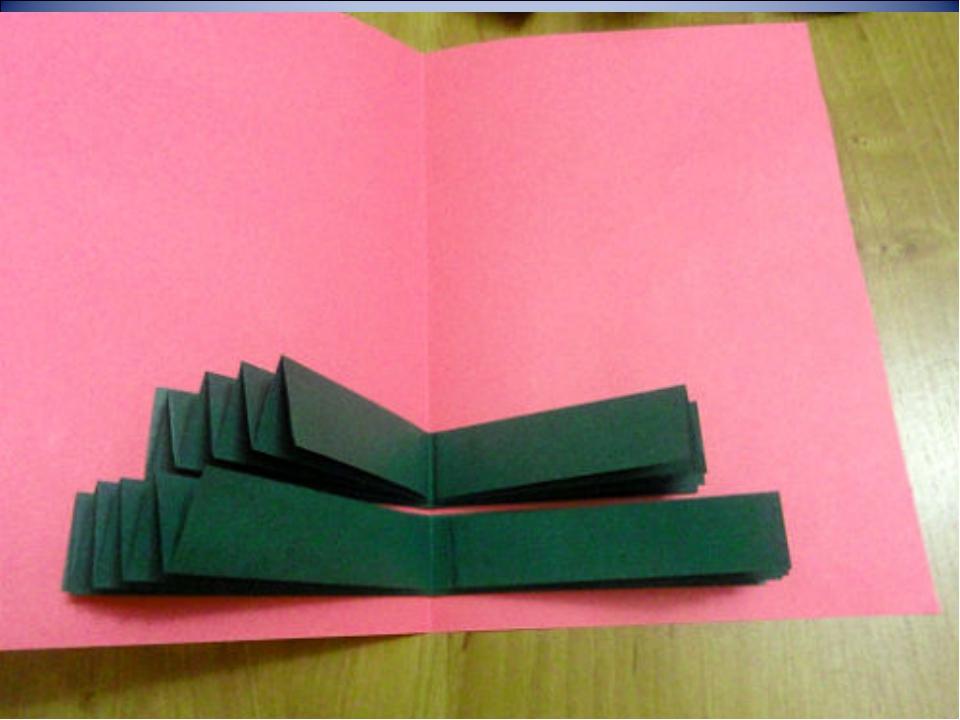 Как сделать из бумаги открытку на новый год своими руками видео