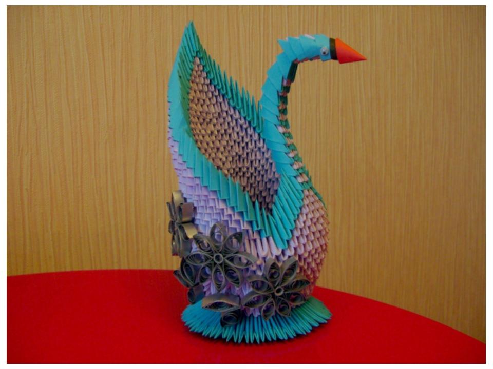 Поделка по оригами