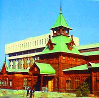 Museum of Popular Musical Instruments. Kazakhstan museums