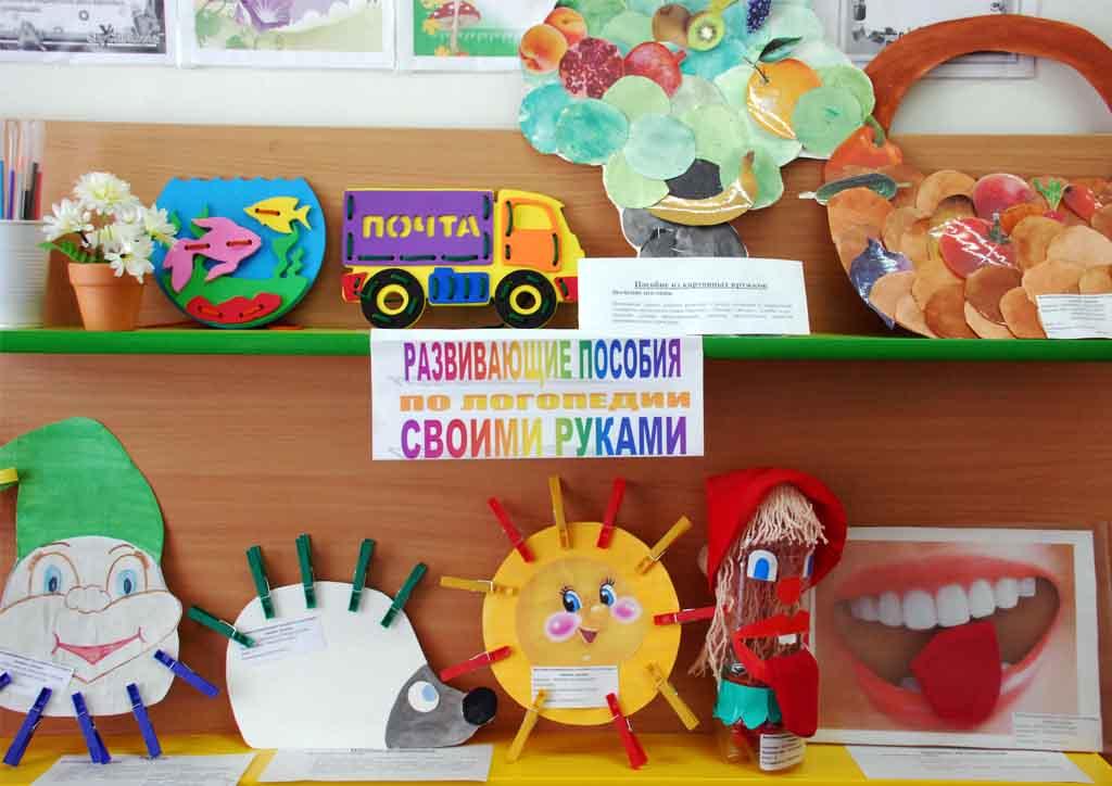 Пособие по развитию речи для дошкольников своими руками