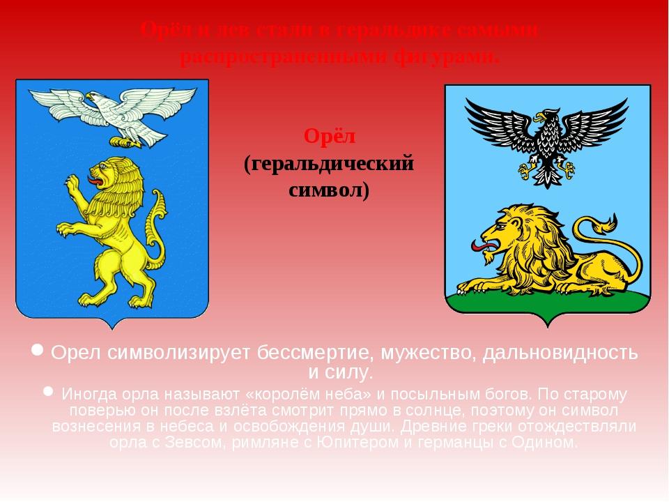 Орел символизирует бессмертие, мужество, дальновидность и силу. Иногда орла н...