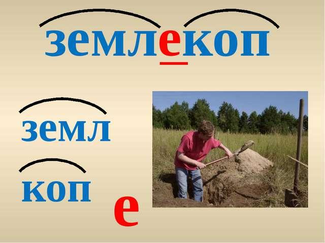 землекоп земл коп е