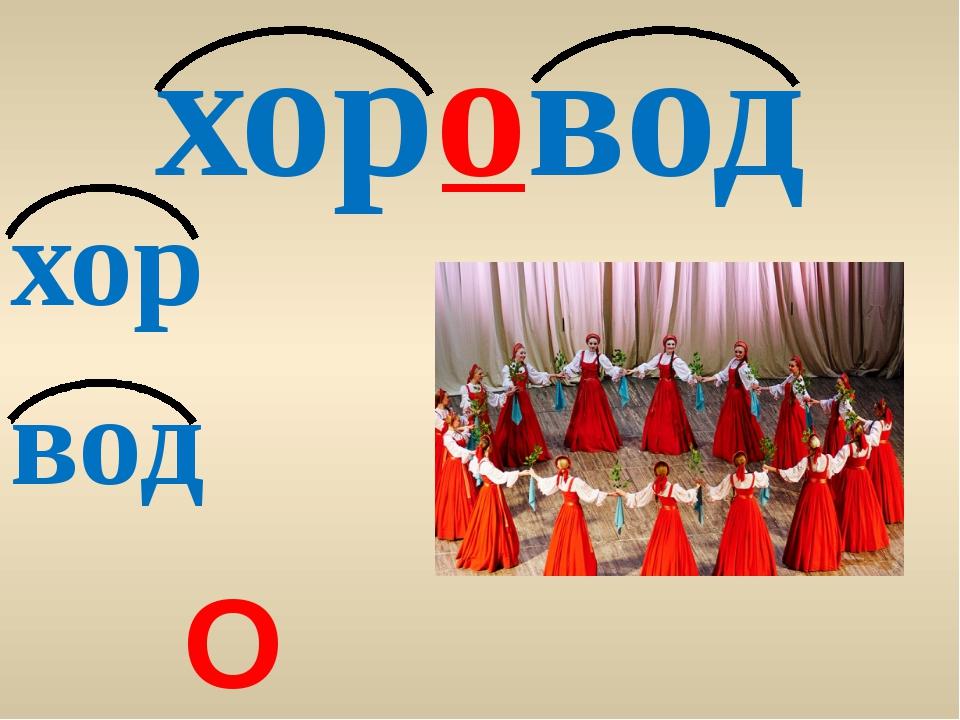 хоровод хор вод О