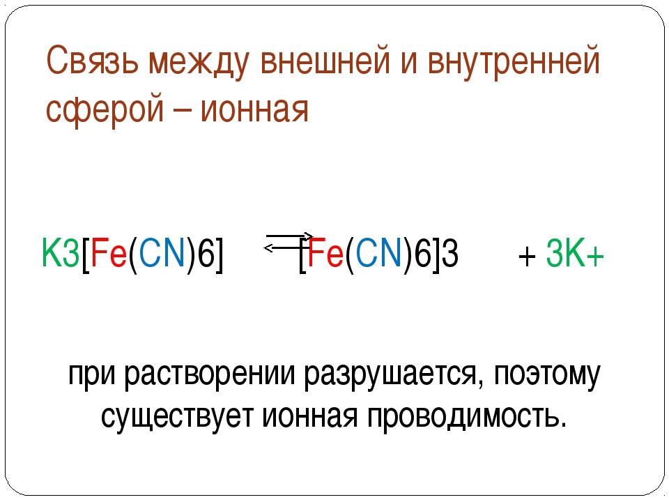 Названия некоторых важнейших лигандов формула название формула название H2O а...