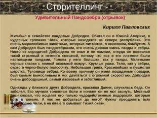 Сторителлинг - Удивительный Пандозебра (отрывок) Кирилл Павловских Жил-был в