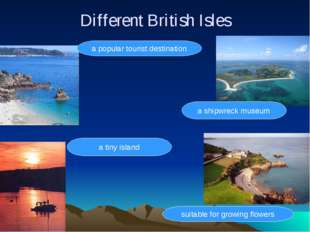 Different British Isles a popular tourist destination suitable for growing fl