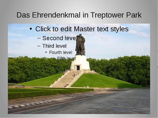 Das Ehrendenkmal in Treptower Park