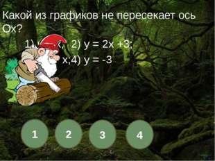 1 2 3 4 В линейной функции k < 0. Функция...? 1) другой ответ; 2) растет; 3)