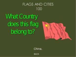 BACK China. What Country does this flag belong to?