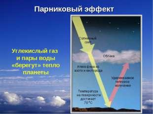 Углекислый газ и пары воды «берегут» тепло планеты * Парниковый эффект