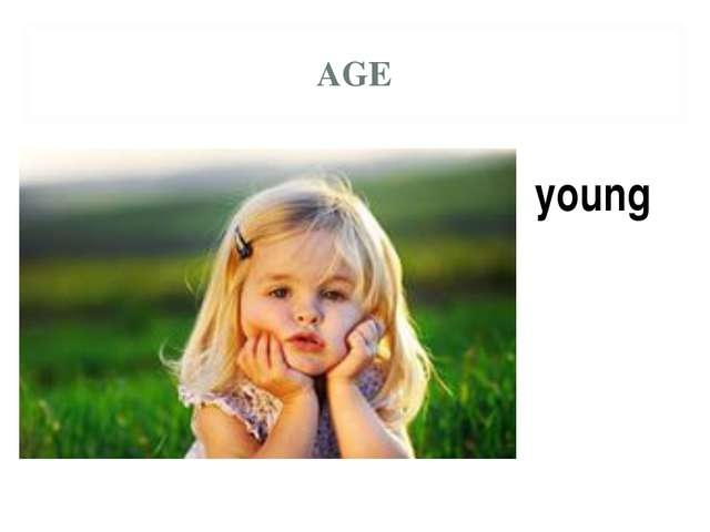AGE young