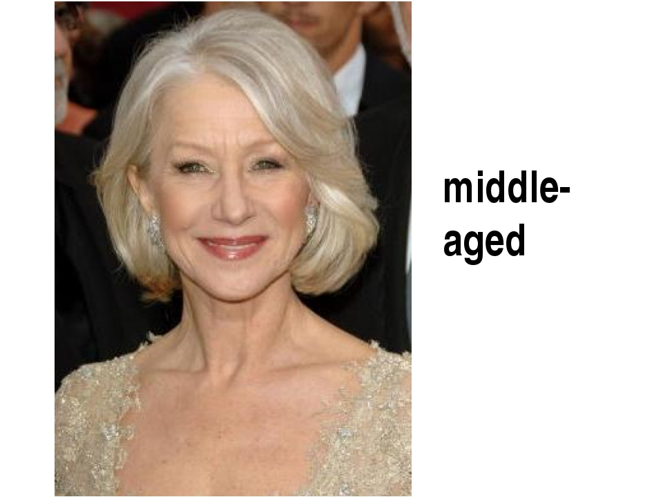 middle-aged