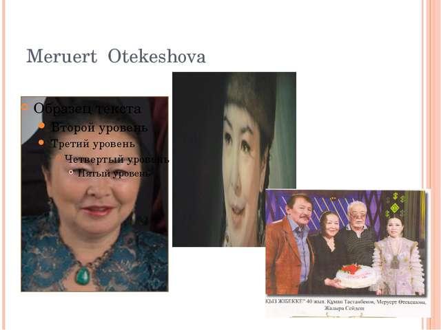 Meruert Otekeshova