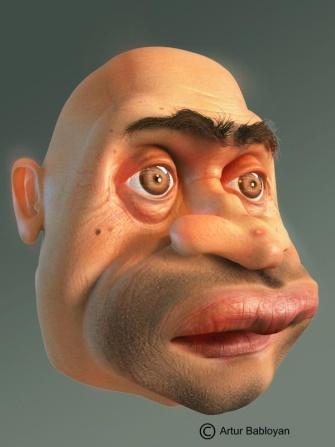 Человек и другая жизнь - morda - Послать картинку другу - 3DCenter.ru