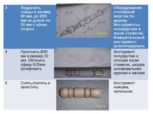 3 Подрезать торцы в размер 80 мм, до Ø25 мм на длине по 20 мм с обеих сторон