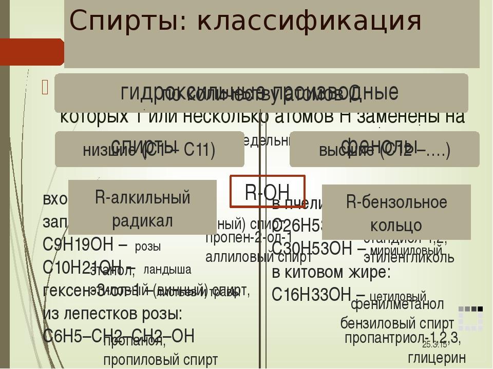Функциональные группы гидроксогруппа (гидроксил) карбонильная группа (карбони...