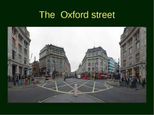 The Oxford street
