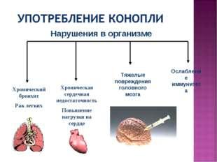 Хронический бронхит Рак легких Хроническая сердечная недостаточность Повышени