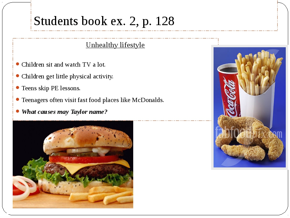 essay of fast food The bad effects of fast food essay today, there are over thousands and millions of a same type of place that ruins your health severely around the world.