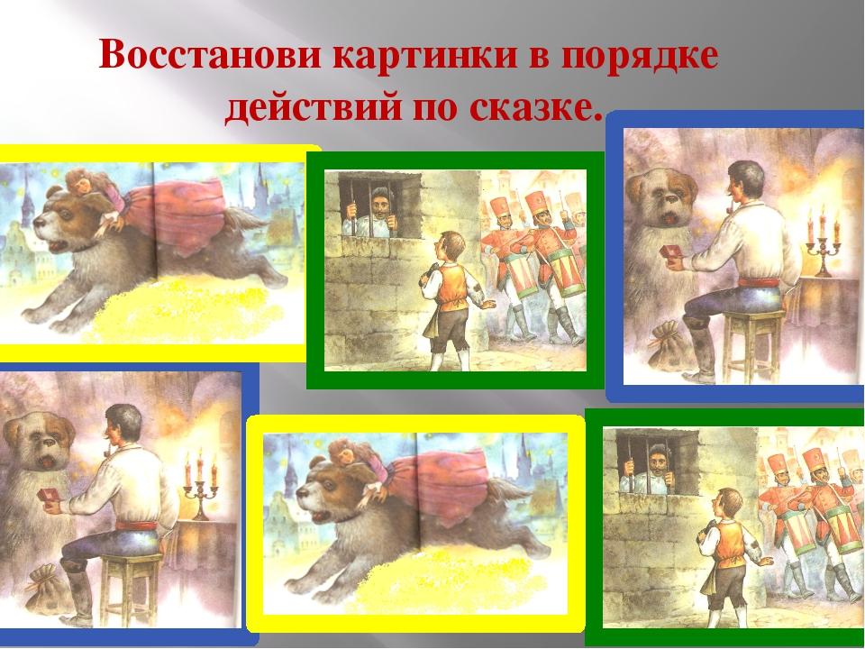 Кроссворд «Герои Андерсена»