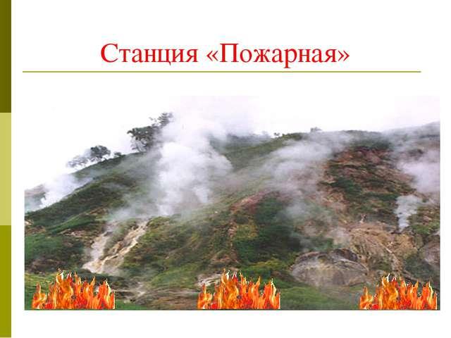 Станция «Пожарная»